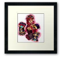 Vi League of Legends Art Framed Print