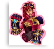 Vi League of Legends Art Canvas Print