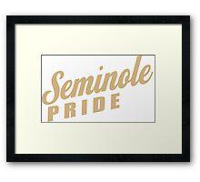 Seminole Pride Framed Print