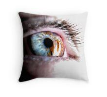 James' Eye Again Throw Pillow