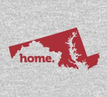 Maryland Home Red by USAswagg