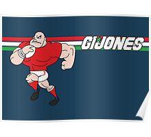 G I JONES Poster