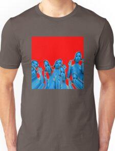 BLUE GIRLS RED SURF Unisex T-Shirt