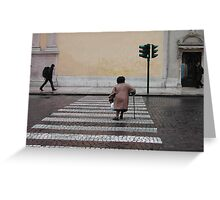 A Short Walk Greeting Card