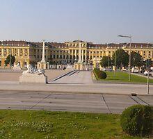 Schonbrunn Palace, Vienna, Austria by smallan