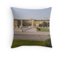 Schonbrunn Palace, Vienna, Austria Throw Pillow
