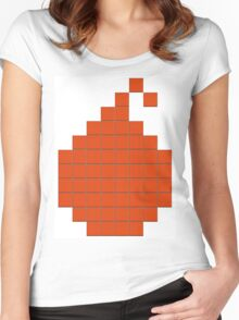 Grid Bomb Women's Fitted Scoop T-Shirt