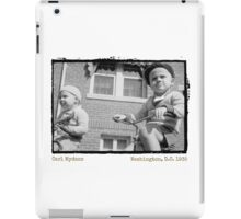 I Want to Ride My Tricycle (Amazing Archives) iPad Case/Skin