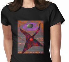 dance 3 Womens Fitted T-Shirt