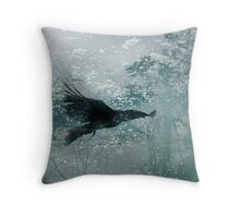 Eternal Flight Throw Pillow