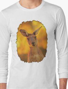 Kangaroo - Western Australia Long Sleeve T-Shirt