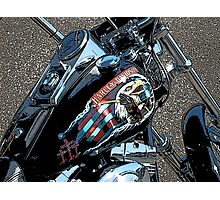 Harley Eagle Photographic Print