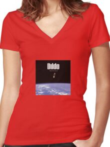 Dildo - Take Me Home Women's Fitted V-Neck T-Shirt