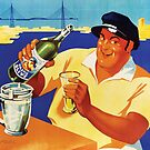 Pastis Olive Classic Vintage Poster by gshapley