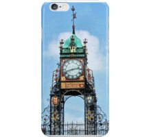 Time Marches On In Chester. iPhone Case/Skin