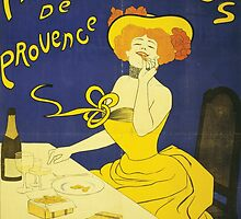 Amandines De Provence Biscuits - Classic Vintage Food Poster by gshapley