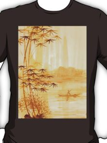 LAKE - landscape art T-Shirt