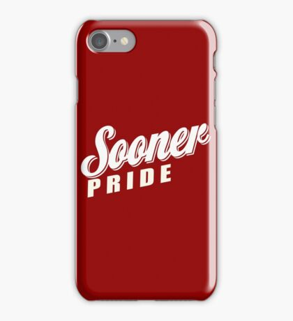 Sooner Pride iPhone Case/Skin