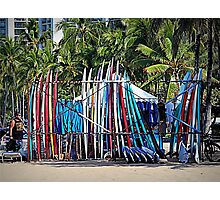 Surfboard Rental Photographic Print