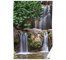 Triple Waterfall Poster