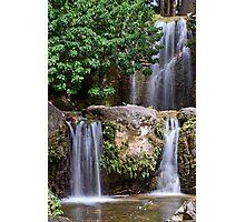 Triple Waterfall Photographic Print