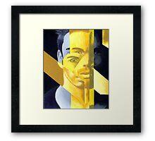 Fractured Man Framed Print