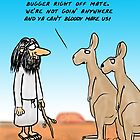 Bugger Off Noah !! by David Stuart