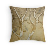 The Disappearing Throw Pillow