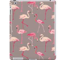 Flamingo Bird Retro Background iPad Case/Skin