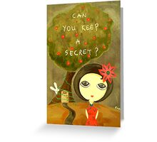 Can You Keep A Secret? Greeting Card