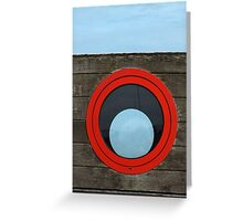 Port Hole, Starboard Hole? Greeting Card