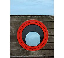 Port Hole, Starboard Hole? Photographic Print
