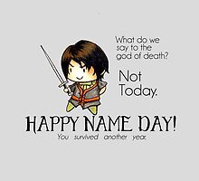 Arya Stark-Happy Name Day by charsheee