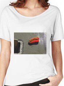 Another Purpose Served - Caution Women's Relaxed Fit T-Shirt