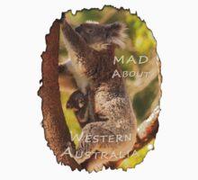 Koala & Cub - MAD About Western Australia One Piece - Short Sleeve