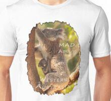 Koala & Cub - MAD About Western Australia Unisex T-Shirt
