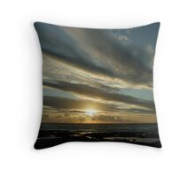 Another day gone Throw Pillow