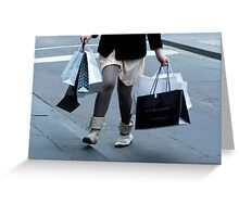 The Shopper Greeting Card