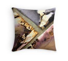Coloured stone Throw Pillow