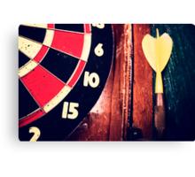 darts Canvas Print