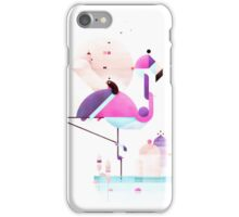 Placido flamingo  iPhone Case/Skin