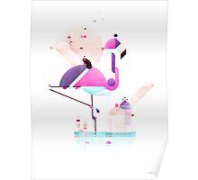 Placido flamingo  Poster
