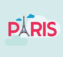 Paris Travel Card by Anna Sivak