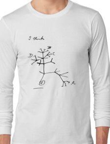 Darwin Tree of Life - I think Long Sleeve T-Shirt