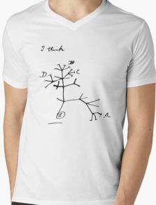 Darwin Tree of Life - I think Mens V-Neck T-Shirt