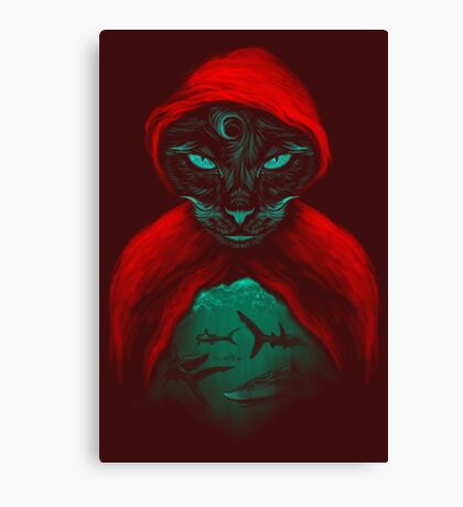 Cat Sharks Canvas Print