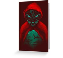 Cat Sharks Greeting Card