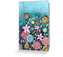 Garden of emotions Greeting Card