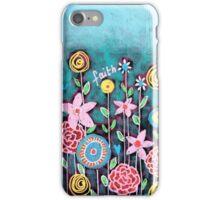 Garden of emotions iPhone Case/Skin
