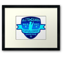 Elite Gamer  Framed Print